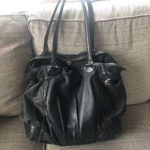 Authentic Gucci Large Tote- black leather